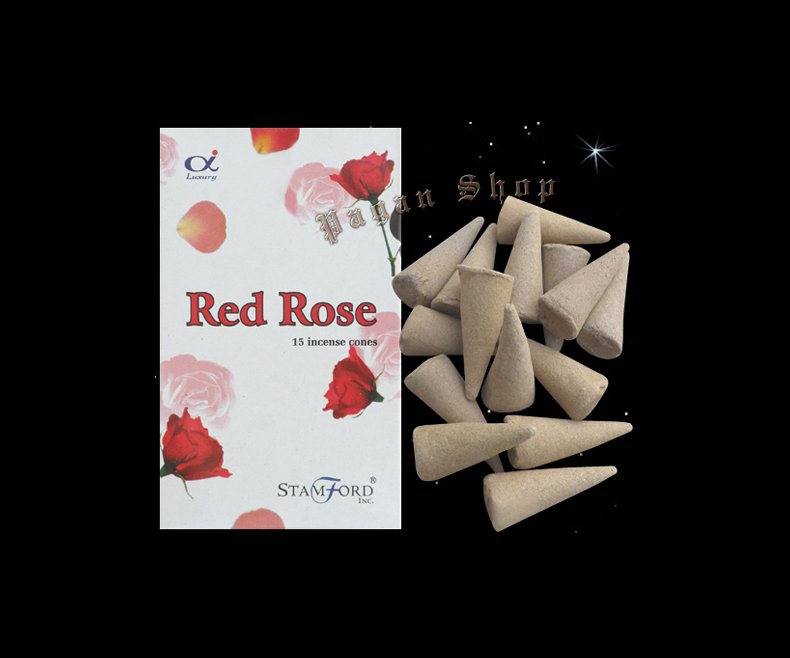 Incense cones Red roses