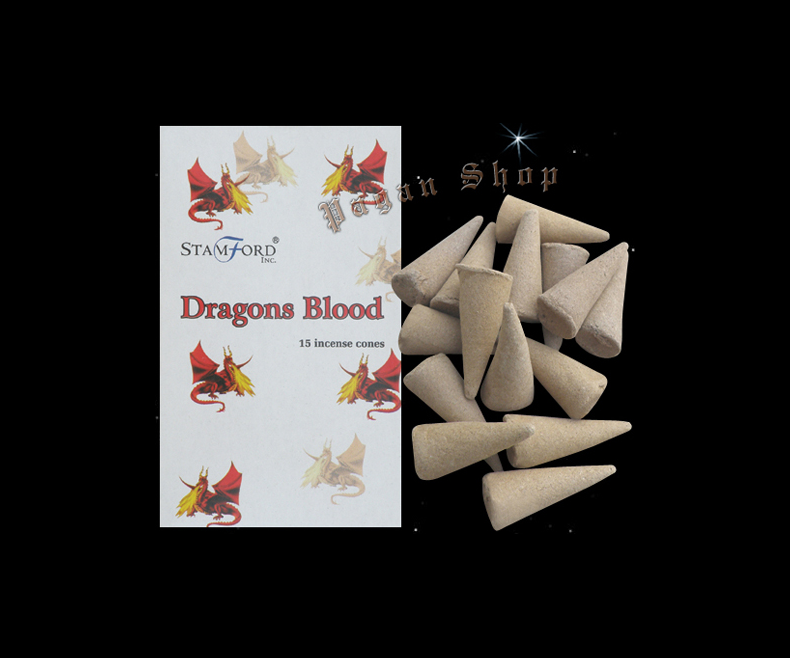 Incense cones Dragon's blood