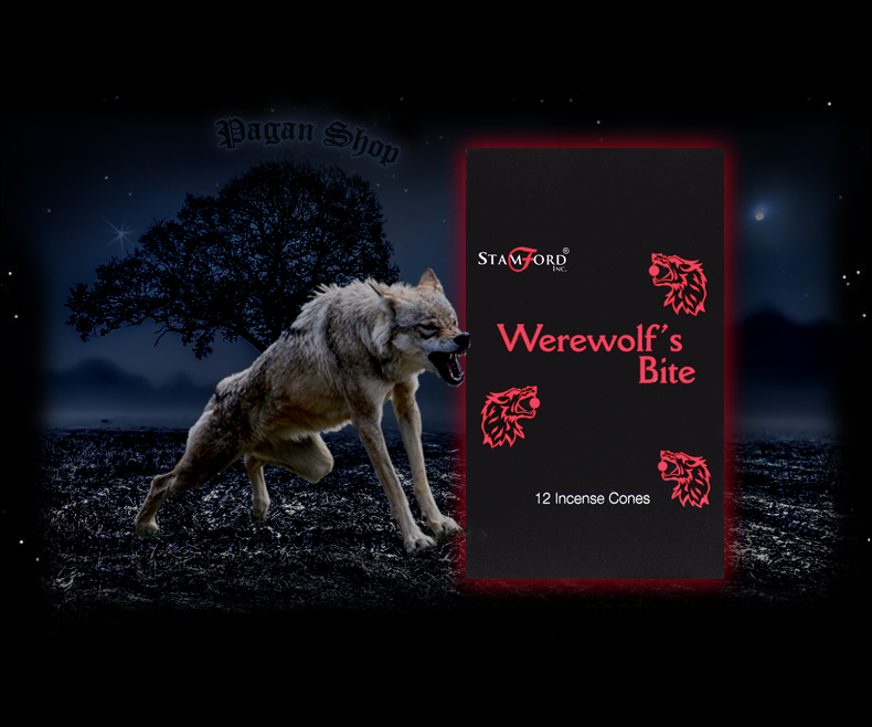 Incense cones Werewolf's bite
