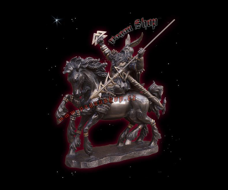 Statue Odin Gungnir
