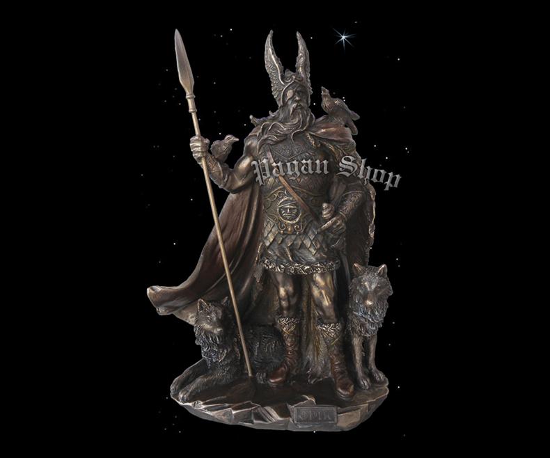 Statue Odin Bragi