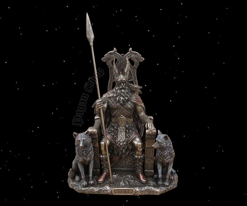 Statue Odin Walvater