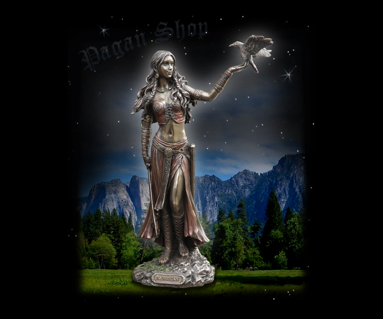 Statue Morrigan