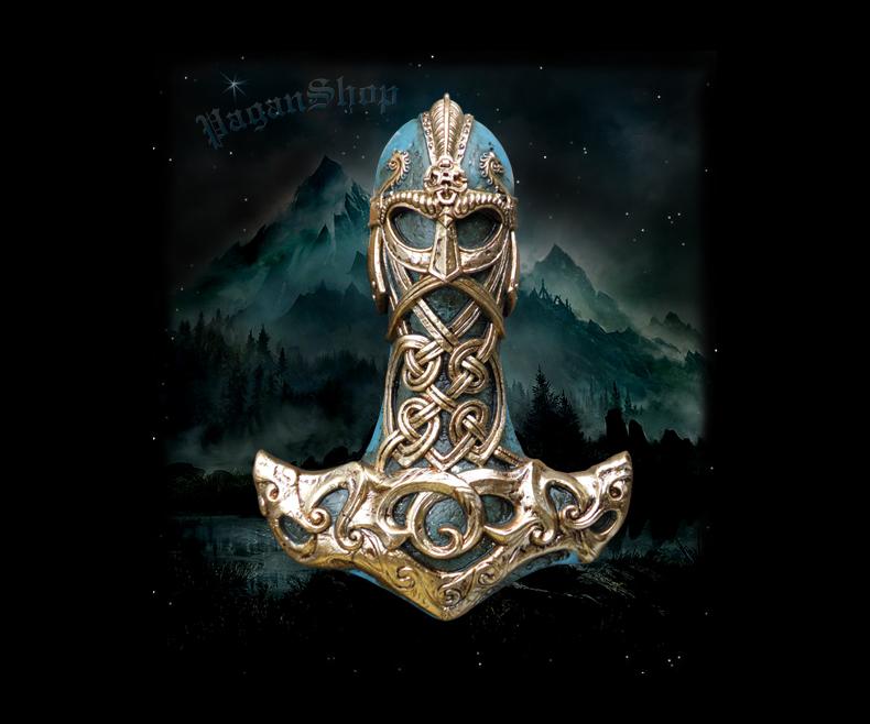 Relief Thor's hammer Ragnar