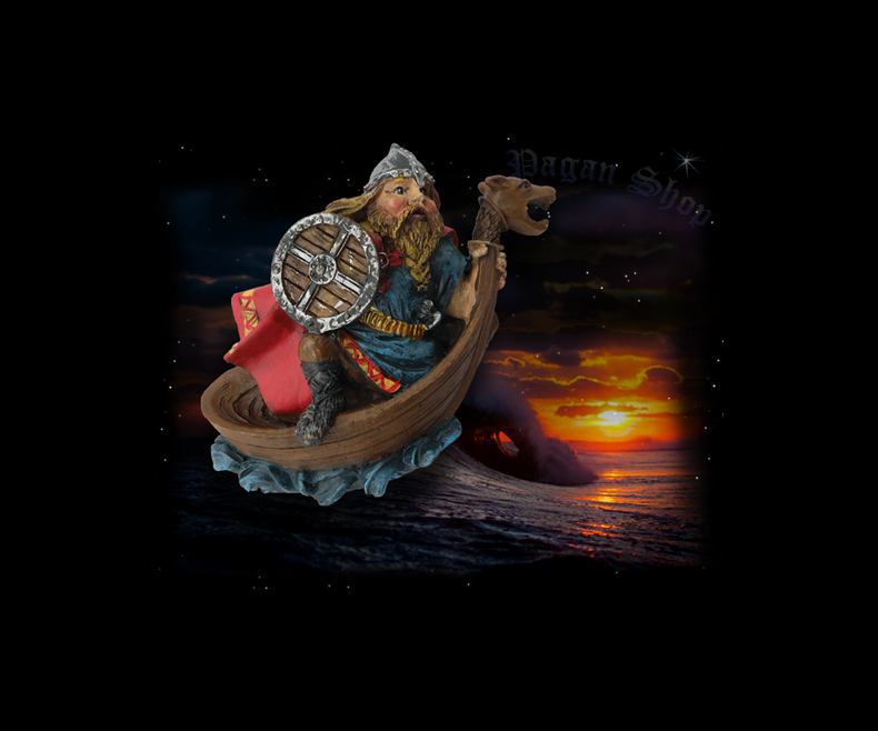 Fridge magnet Viking ship