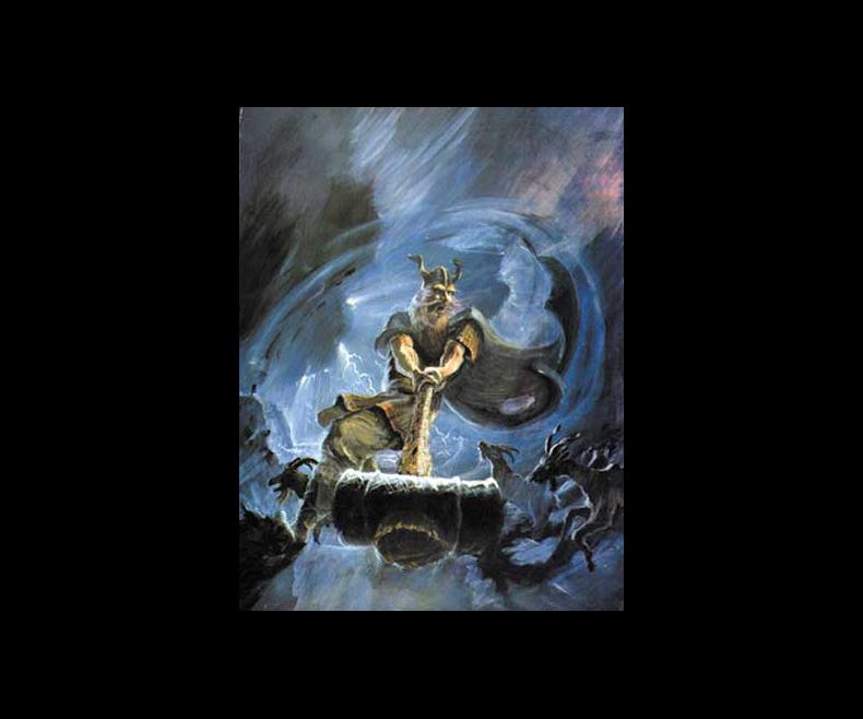 Poster Thor Donar