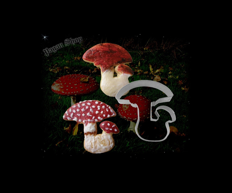 Baking form Amanita muscaria