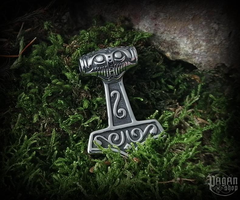 Pendant Thor's hammer Steinthór - 316L