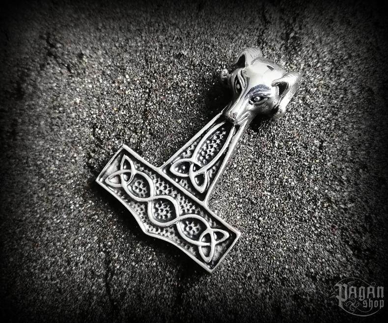 Pendant Thor's hammer Vaedderen - 316L