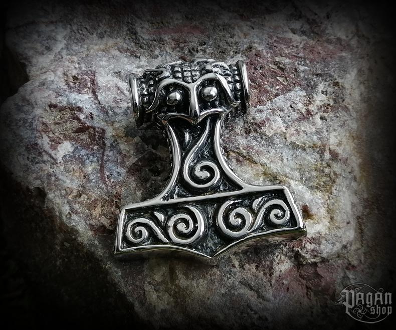 Pendant Thor's hammer Steinn - 316L