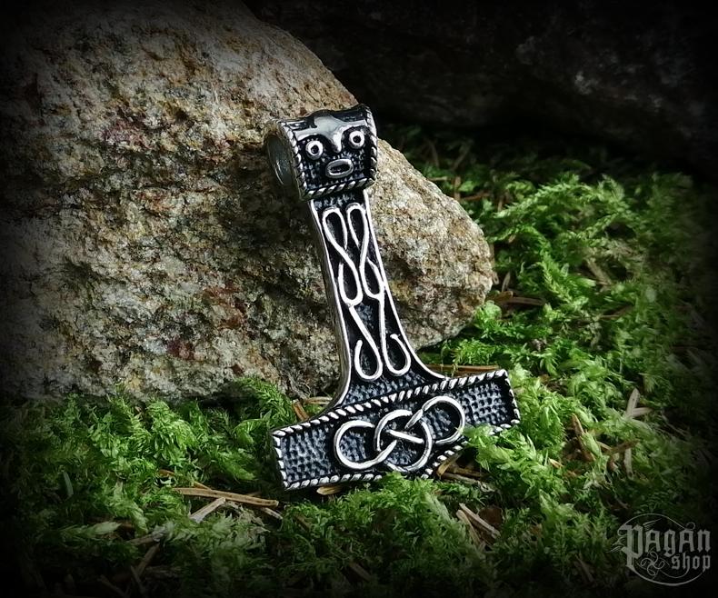 Pendant Thor's hammer Eldingar - 316L