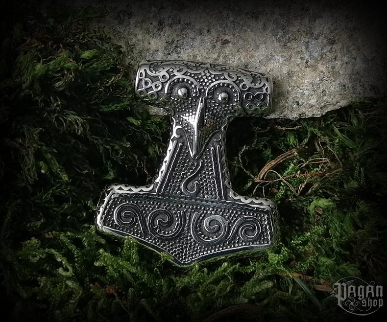 Pendant Thor's hammer Schonenhammer - 316L