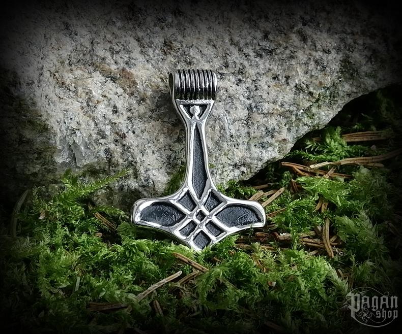 Pendant Thor's hammer Thoralf - 316L