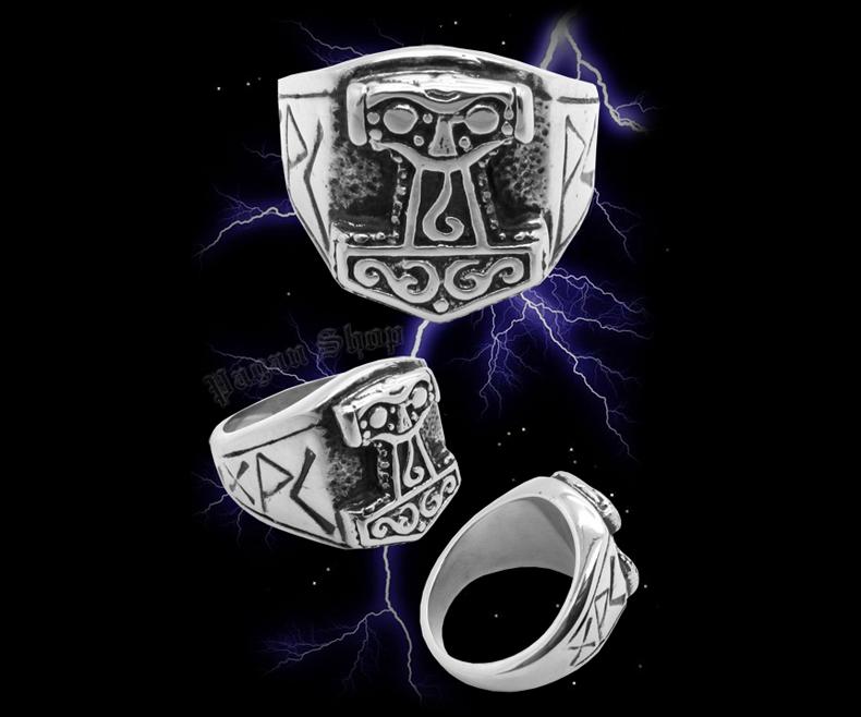Ring Thor's hammer Thorwal - 316L