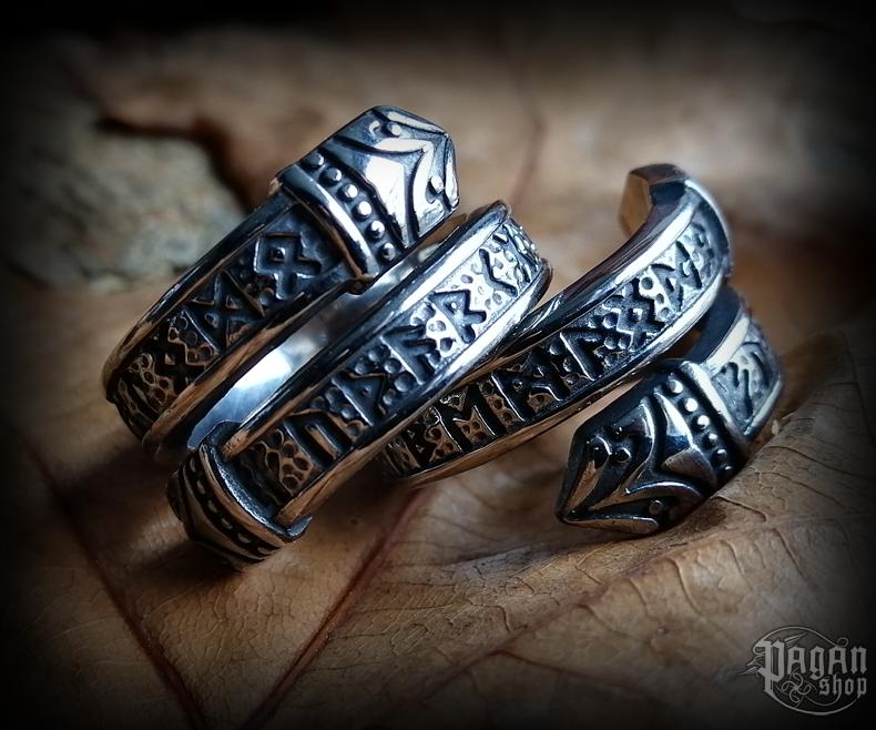 Ring Futhark Drakkaris - 316L