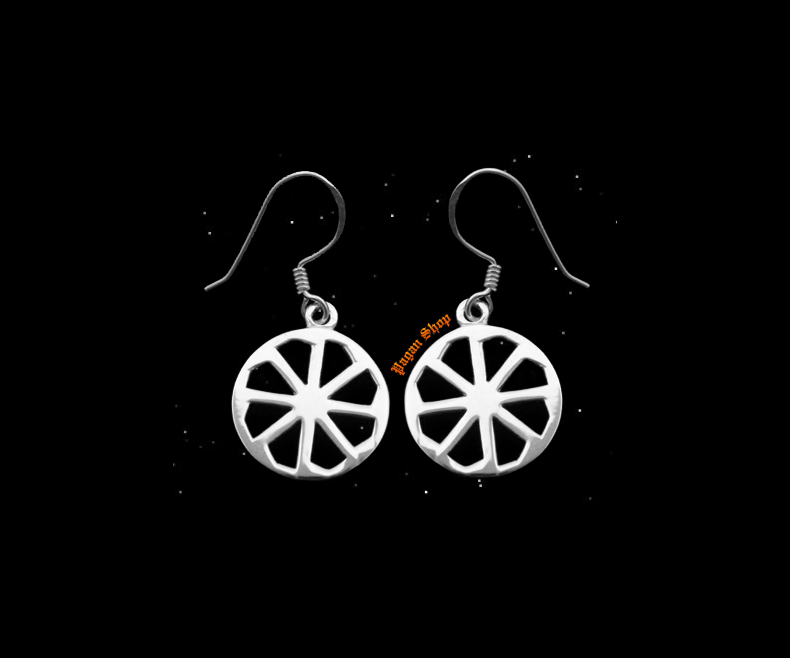 Hook earrings Kolovrat Merana - 925 sterling silver