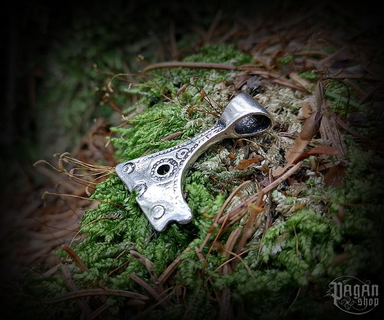 Pendant Perun's axe Molniya - 925 sterling silver