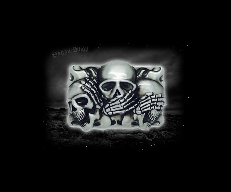 Belt buckle Skulls Sanzaru