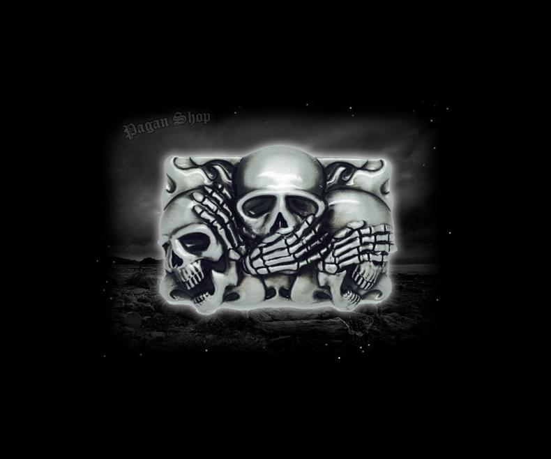 Belt buckle Skulls Sanzaru