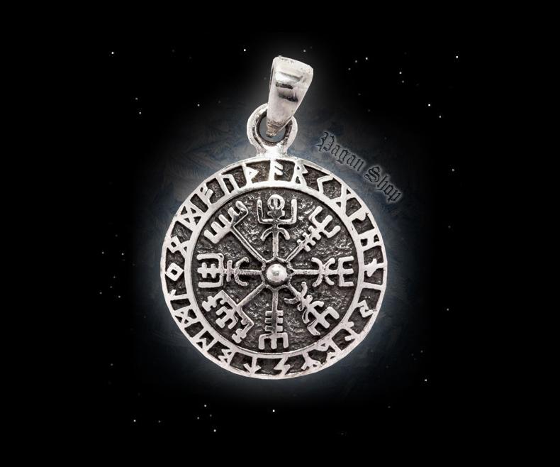 Pendant Vegvisir Talizar - 925 sterling silver