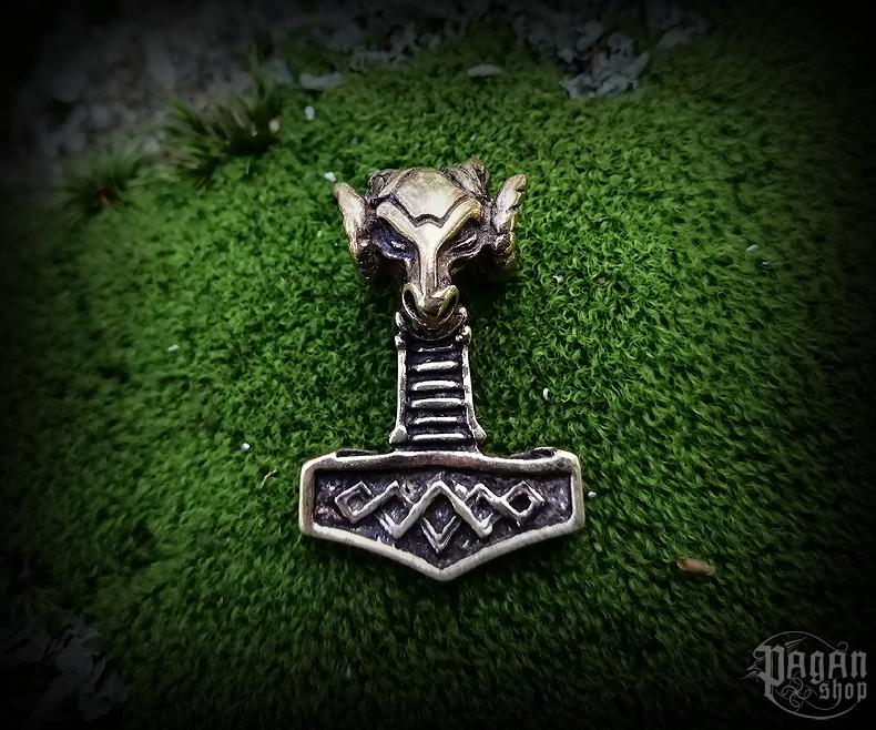 Přívěsek Thorovo kladivo Vaeret - bronz