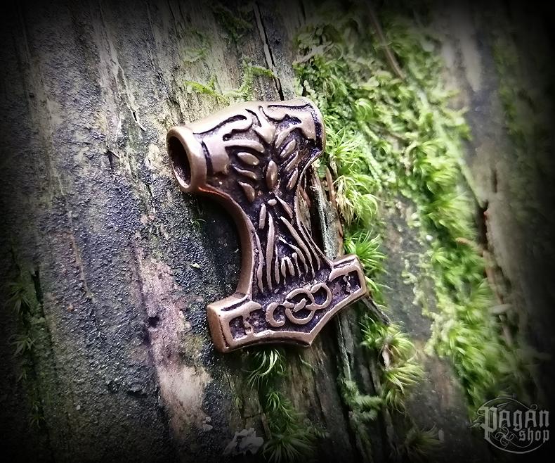 Přívěsek Thorovo kladivo Thorily - bronz