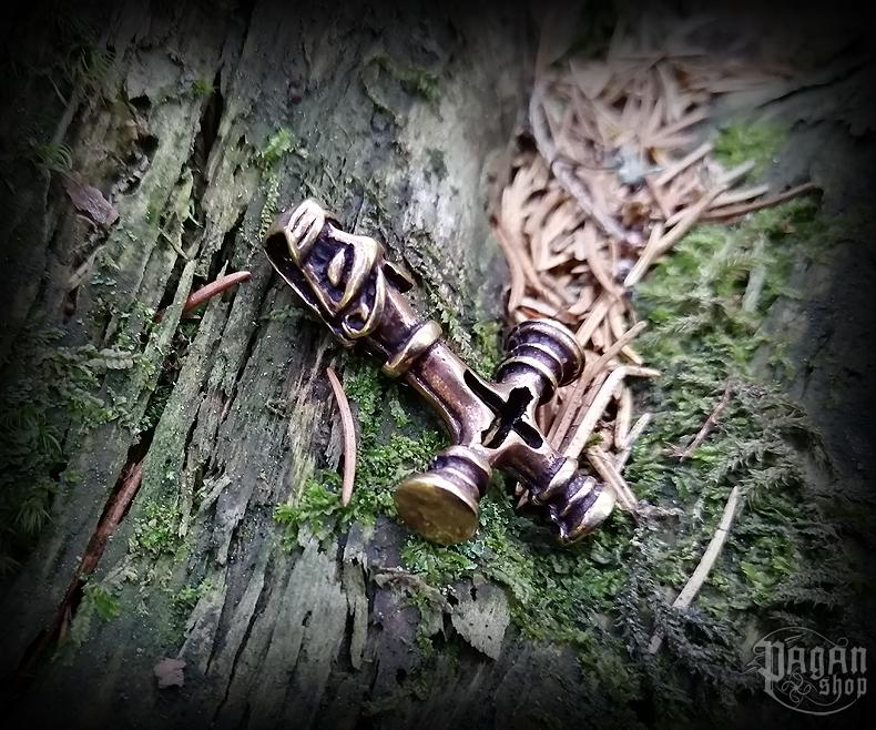 Přívěsek Thorovo kladivo Úlfur - bronz