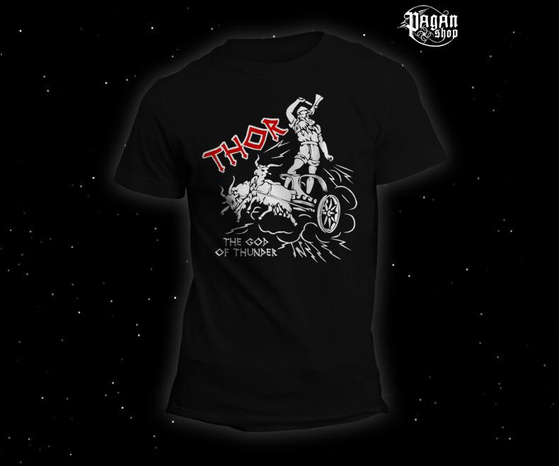 Triko Thor černé