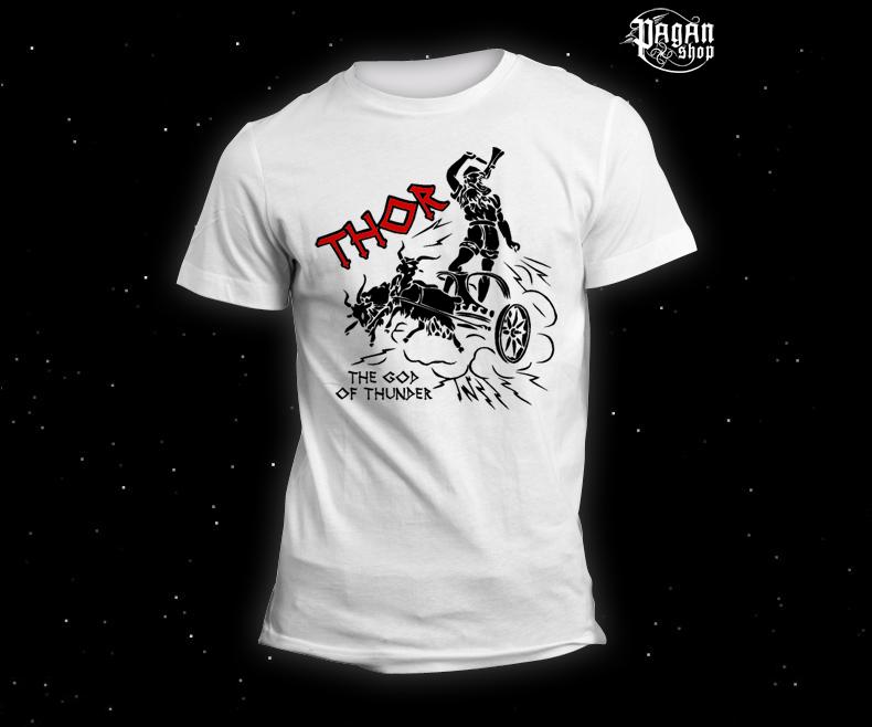 Triko Thor bílé