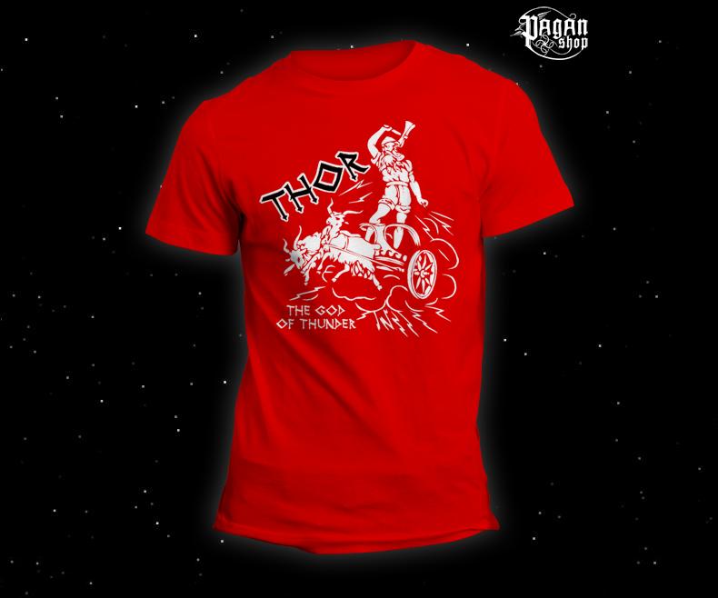 Triko Thor červené