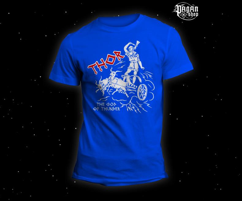 Triko Thor světle modré