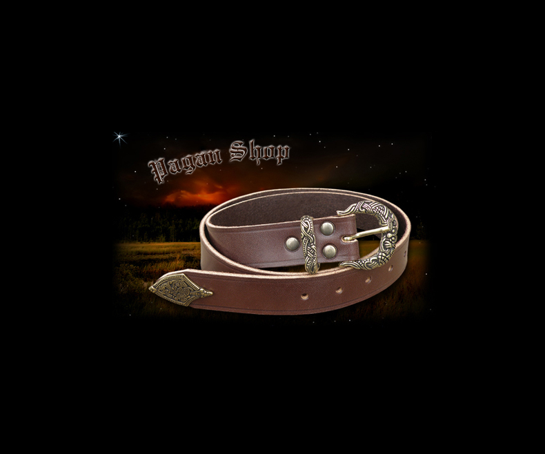 Viking belt brown