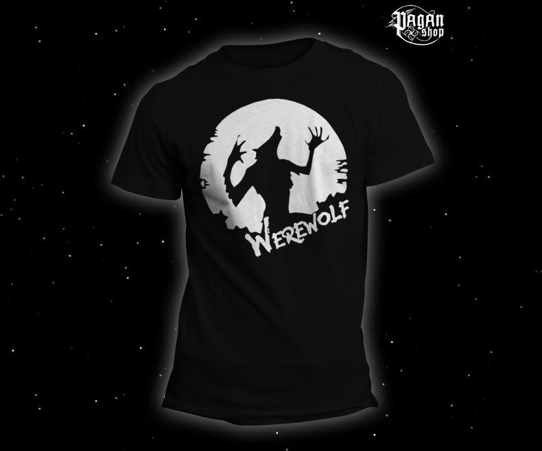 Triko Werewolf černé