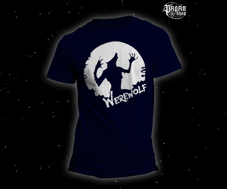 Triko Werewolf tmavě modré