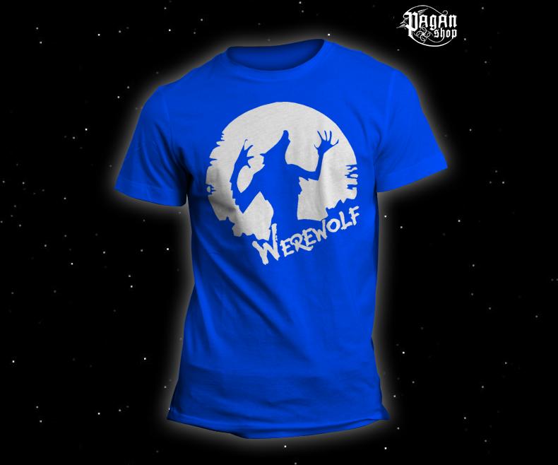 Triko Werewolf světle modré