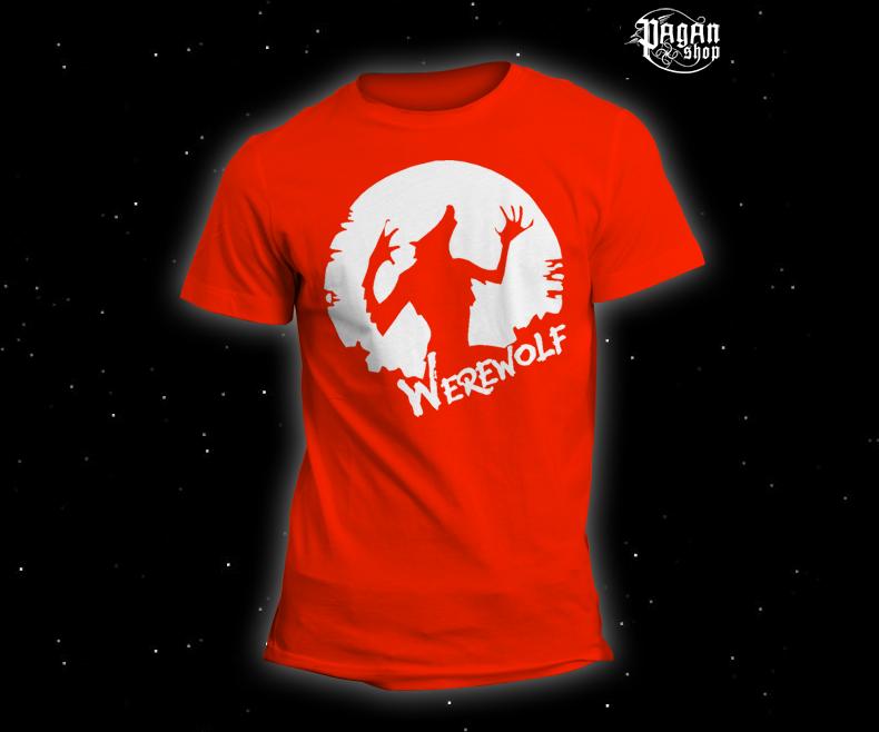 Triko Werewolf oranžové