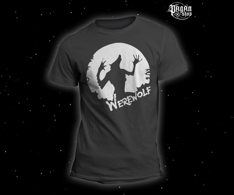 Triko Werewolf šedé