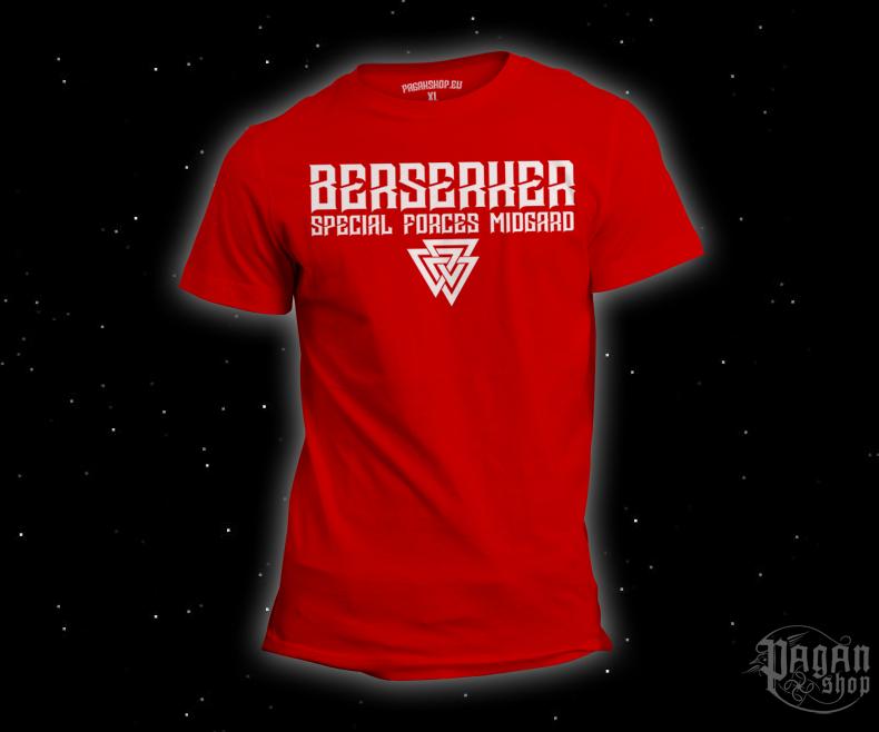 T-shirt Berserker forces red