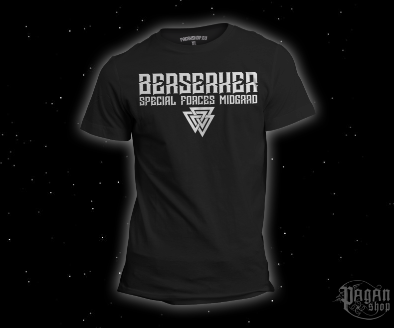 T-shirt Berserker forces black