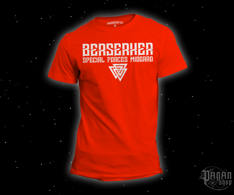 T-shirt Berserker forces orange