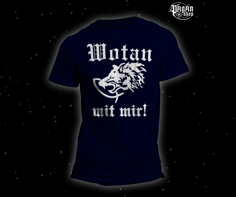 Triko Wotan mit mir! tmavě modré