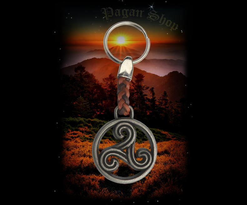 Keychain Triskel