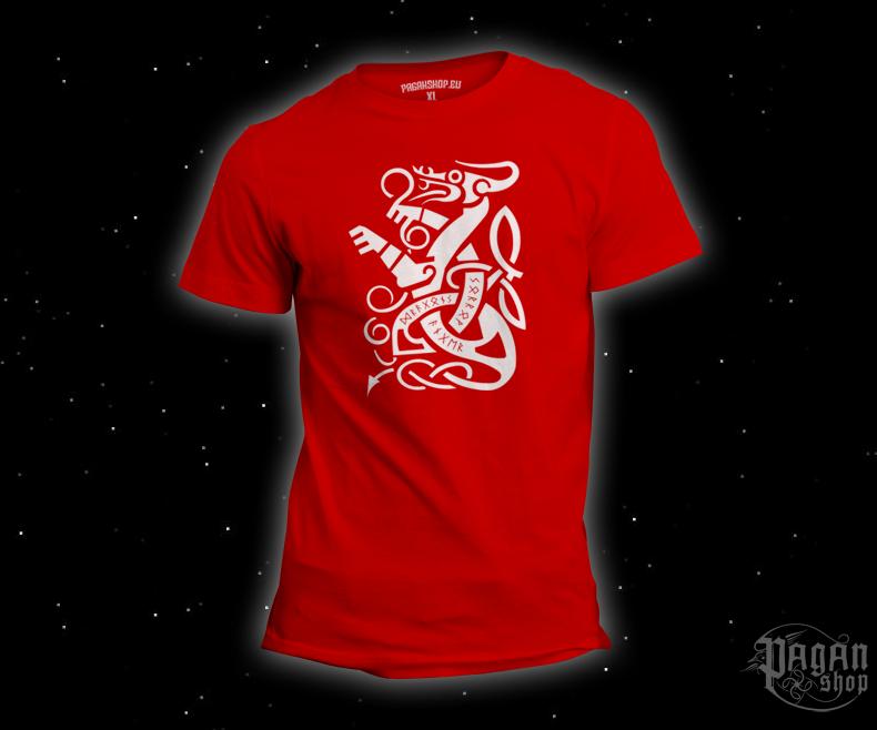 Triko Dragon červené