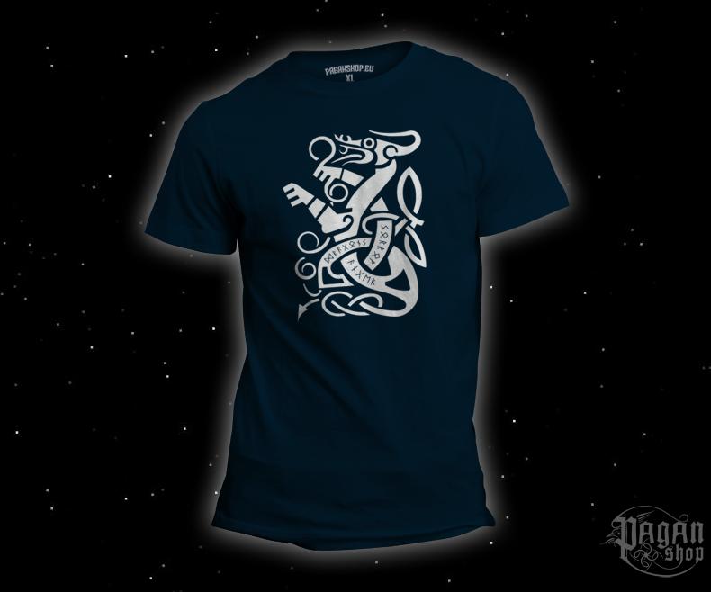 Triko Dragon tmavě modré