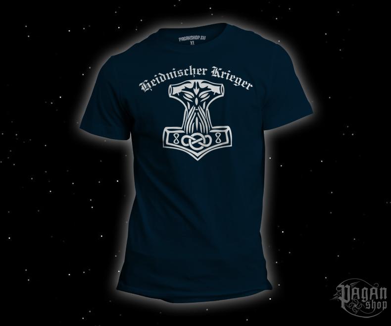 Triko Heidnischer Krieger tmavě modré