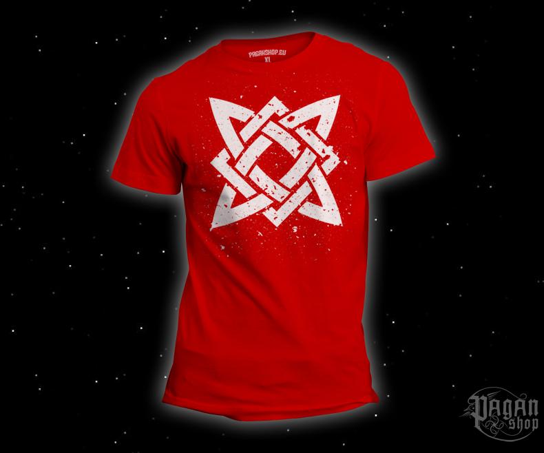 Triko Hvězda Svaroga červené