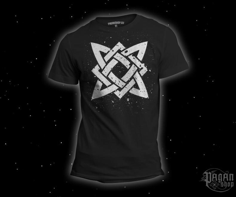 Triko Hvězda Svaroga černé