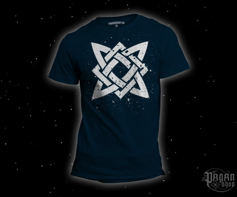 Triko Hvězda Svaroga tmavě modré