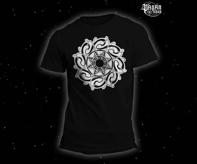 Triko Keltské Slunce černé