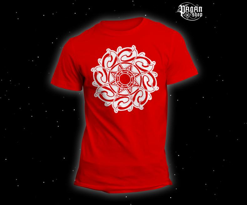Triko Keltské Slunce červené